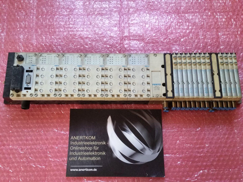 Festo CPX valve terminal VMPA-VI CPX-FB13 MPA1-FB P00019 ...
