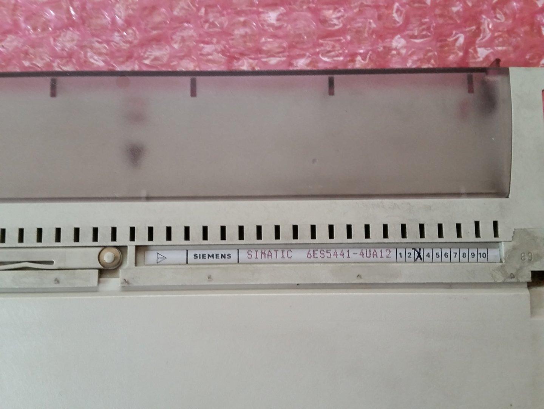 03 Siemens Simatic S5 6ES5441-4UA12 6ES5-441-4UA12 Vers