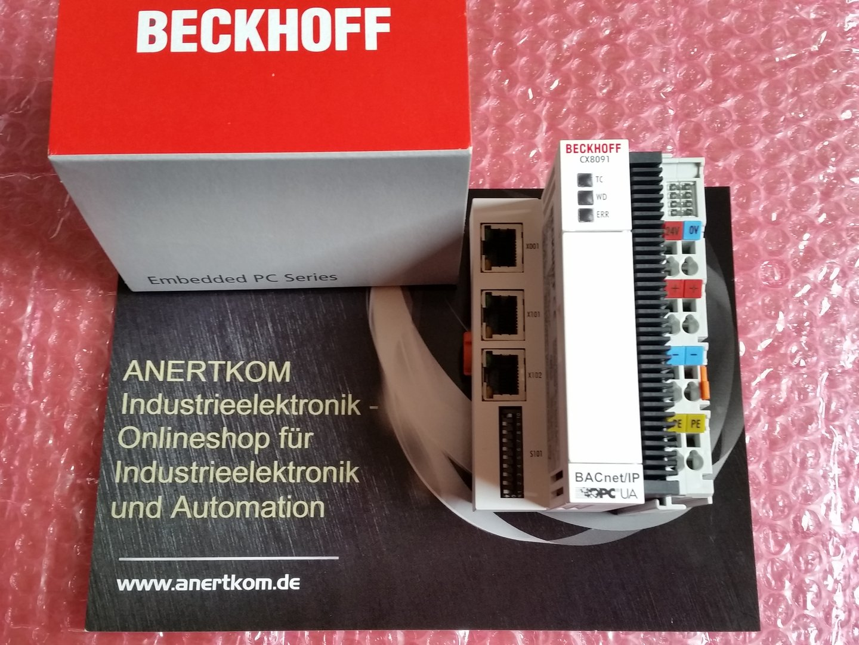 beckhoff cx8091 embedded pc f r bacnet ip und opc ua neu. Black Bedroom Furniture Sets. Home Design Ideas