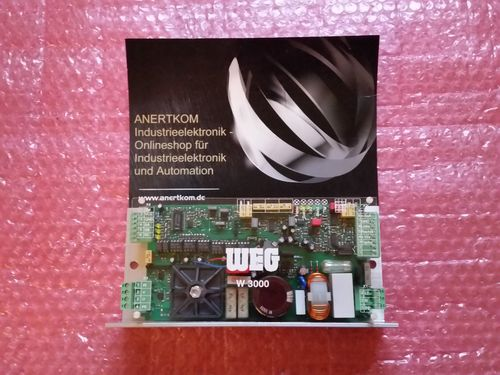 WEG W3000 control amplifier 230V 3A NEW