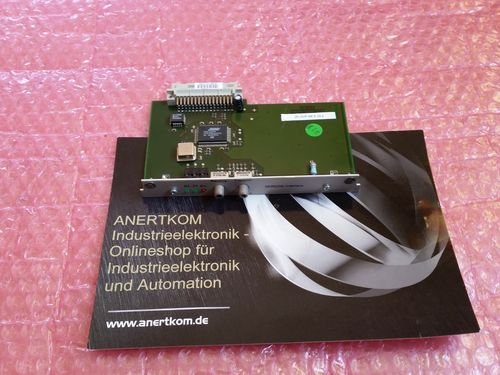 SERCOS Interface Card FW 4.94 and up A.F.031.5/08 14.03
