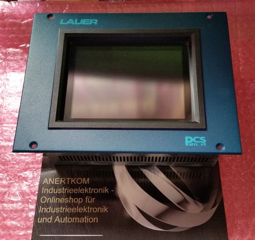LAUER PCS smart PCM-57SQD-000 24V DC Operator Panel Touchscreen MPI + COM Port