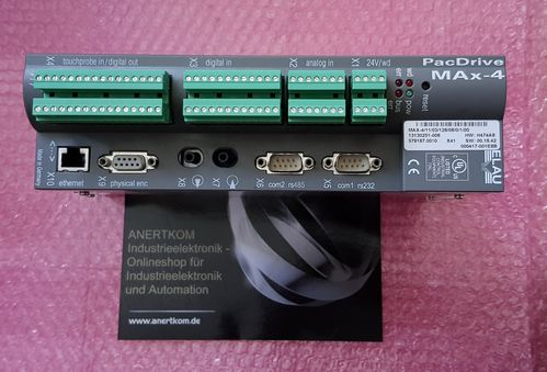 ELAU MAX-4/11/03/128/08/0/1/00 Schneider Electric PacDrive SW:00.16.42